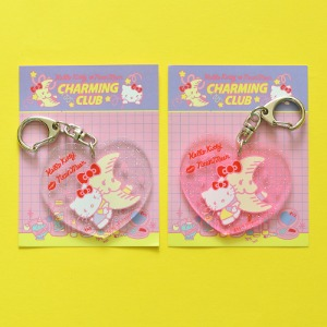 [HELLO KITTY Loves NEONMOON] Key Holder