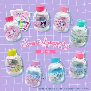 [Sanrio] Pet bottle Mini Stationery Set